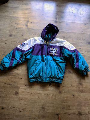Vintage 90s Anaheim Mighty Ducks Windbreaker Jacket for Sale in Anaheim, CA