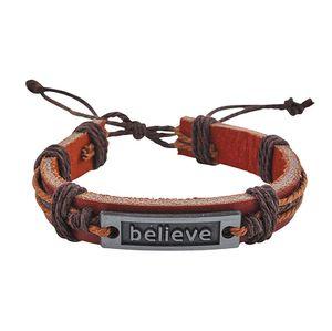 Faux Leather Believe Bracelet for Sale in Troy, VA