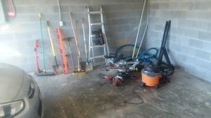 Tools,ladder,shop vac, ladder rack for Sale in White House, TN