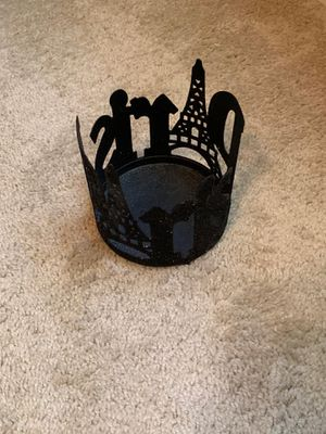 Paris themed candle holder for Sale in Keller, TX