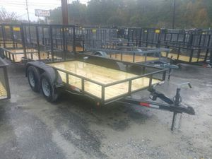 Brand New Utility Trailers 5x8 to 6x12 only! $50 down no credit check for Sale in Florence, SC