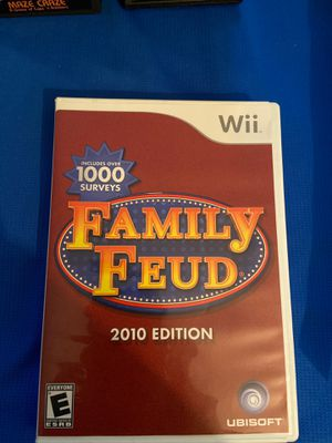 Family Feud 2010Edition Nintendo Wii for Sale in Tucson, AZ
