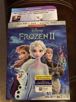 Frozen 2 movie digital code for Sale in Las Vegas, NV