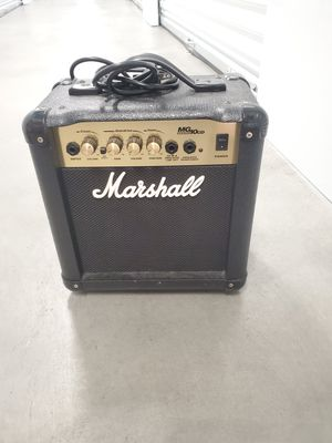 Marshall MG10CD Amp for Sale in Chula Vista, CA
