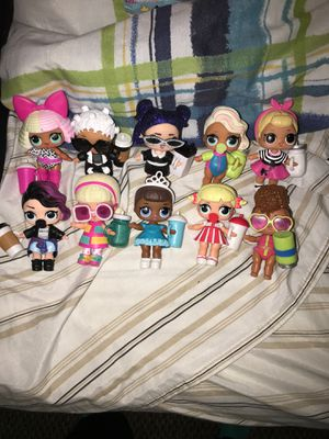 Random (10) LOL SURPRISE DOLLS for Sale in Aspen Hill, MD