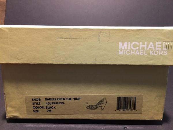 Authentic Michael Kors Racquel Open Toe Pumps 9M