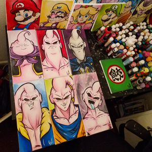 Forms Of Majin Buu Set! By Quil - Dragonball Z for Sale in Tracy, CA