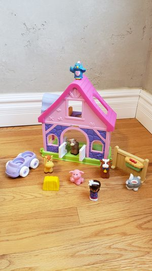 Fisher Price Little People Pink Pony Horse Stable Dollhouse Playset for Sale in Phoenix, AZ