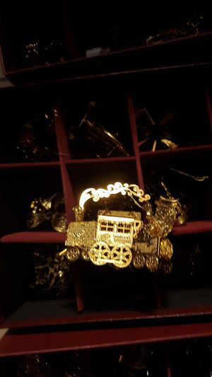 Danbury mint gold plated Christmas ornament for Sale in Lakeland, FL