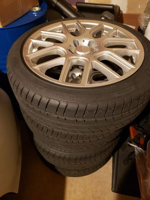 VISION WHEEL &TIRES 5x112, 18in VW, AUDI, BENZ for Sale in Warrenton, VA