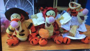 3 Disney Tigger bean bag plush dolls for Sale in Everett, WA