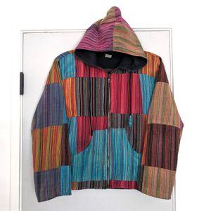 Kathmandu Imports Patchwork Jacket Hoodie for Sale in Mesa, AZ