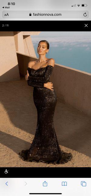 Got Class Sequin Dress - Black Fashion Nova medium for Sale in Freehold, NJ