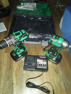 Metabo impact drill and impact wrench for Sale in San Antonio, TX
