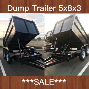 Dump Trailer 5x8x3 for Sale in Santa Ana, CA