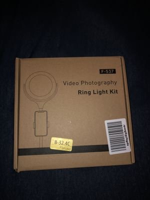 video photography ring light kit for Sale in Fresno, CA