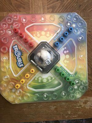 Trouble Board Game - Fun for Kids for Sale in San Bernardino, CA