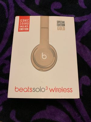 Beats solo 3 wireless for Sale in Houston, TX