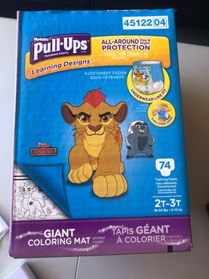 New Huggies Pull-Ups 74 Count for Sale in Phoenix, AZ