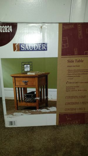Sauder Side Table for Sale in Fairfax, VA