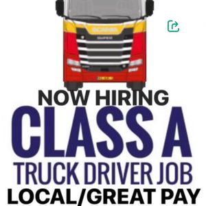 CDL A Local Driver Needed for Sale in Detroit, MI