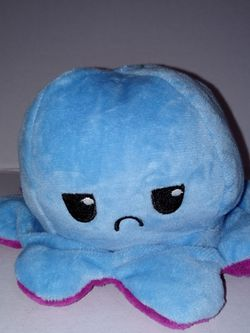 Octopus 🐙Moody Tik Tok Double-Sided Flip Plush Toy, Cute Reversible Doll, Soft Stuffed Animals Doll, Toys Gift for Kids Boys Girls Friends-all Colors for Sale in La Puente,  CA