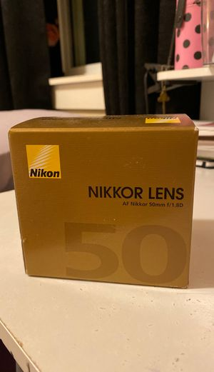 Nikon Lens for Sale in Kent, WA