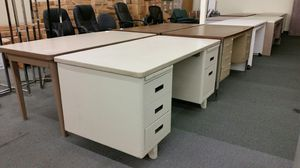 Assorted Metal Desks - Warehouse Sale - By Appointment for Sale in Port Orchard, WA