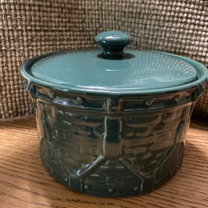 Longaberger Woven Drum Crock for Sale in Joliet, IL