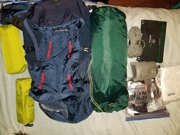 Hiking/camping/bug OUT equipment
