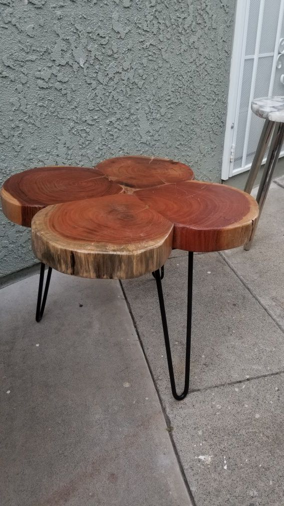 Clover wooden table