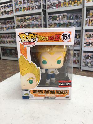 DragonBall Z - Super Saiyan Vegeta AAA Anime Exclusive Funko POP for Sale in Los Angeles, CA