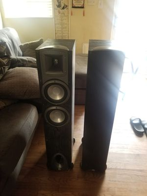 Klipsch synergy f2 floorstanding speakers for Sale in Arvada, CO