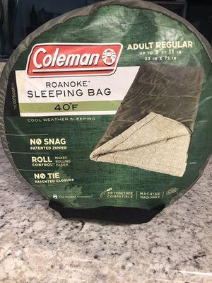 Coleman Roanoke Sleeping Bag for Sale in Tampa, FL