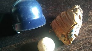 Baseball hat, and ball,no glove for Sale in New Canton, VA