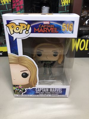 Funko Pop Captain Marvel Action Figure Collectible for Sale in Long Beach, CA