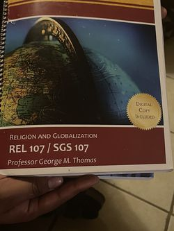 ASU Religion and Globalization ( REL107/SGS107) for Sale in Phoenix,  AZ