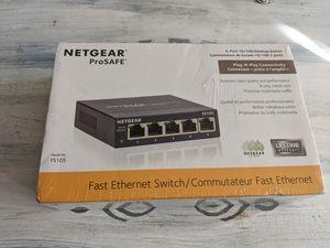 Netgear 5 port switch for Sale in Dinuba, CA