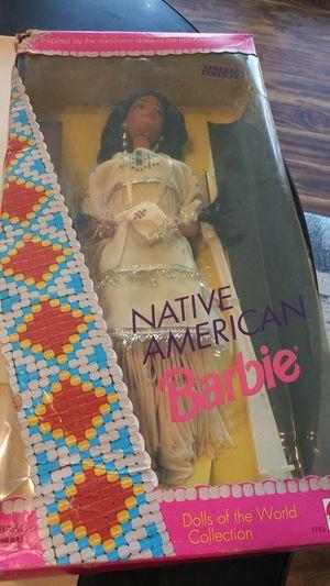 3 Native American Barbie s in box for Sale in Van Buren, AR