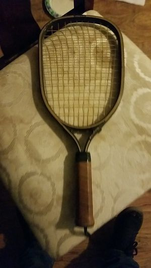 Antique tennis racket never used for Sale in Redlands, CA