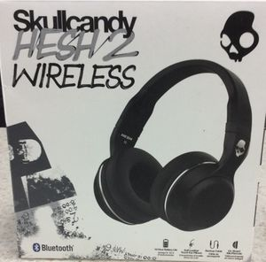 Skullcandy Hesh 2 Bluetooth Wireless Over-Ear Headphones with Microphone, Supreme Sound and Powerful Bass, 15-Hour Rechargeable Battery, Soft Synthet for Sale in Rancho Cucamonga, CA