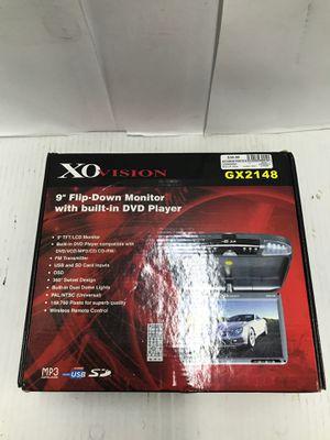 XO Vision flip down DVD player for Sale in Dallas, TX
