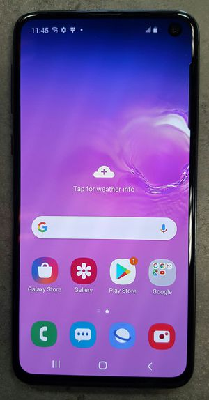 GSM UNLOCKED Samsung Galaxy S10e 128gb Black Android Smart Cell Phone for Sale in Vancouver, WA