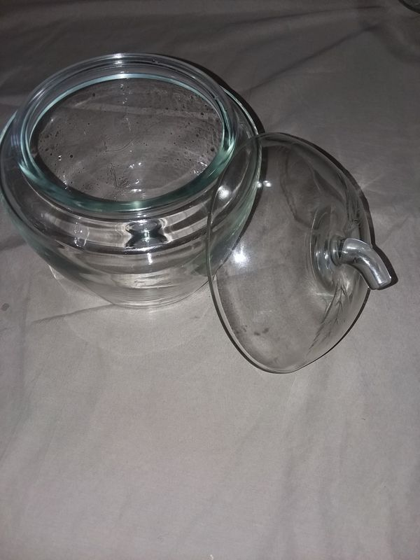 Glass Apple Storage Container