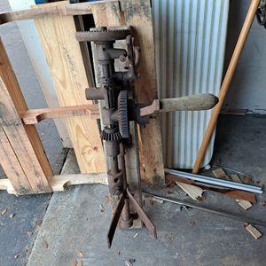Antique Drill Press for Sale in Everett, WA