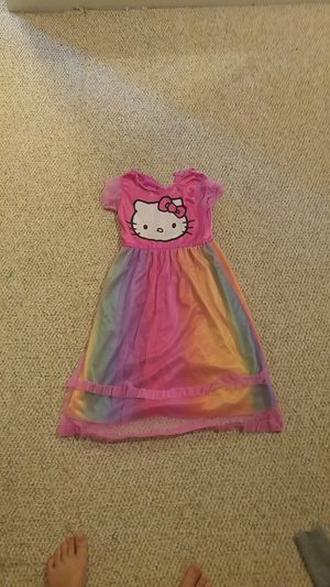 Hello kitty rainbow kids dress for Sale in Rockville, MD