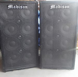 8x10 Bass Cabinet - 1200 watt - guitar rig for Sale in Peoria, AZ