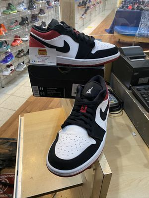 Air Jordan 1 Black Toe Low Size 11 for Sale in Silver Spring, MD
