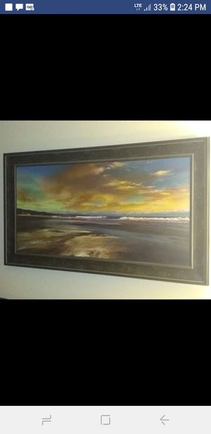 Sunset ocean picture for Sale in Wichita, KS