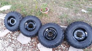Polaris brand new rims with tires 2018 for Sale in Haines City, FL
